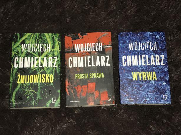 Trzy ksiązki Wojciecha Chmielarza