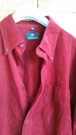 Рубашка мужская вельвет, Размер XL