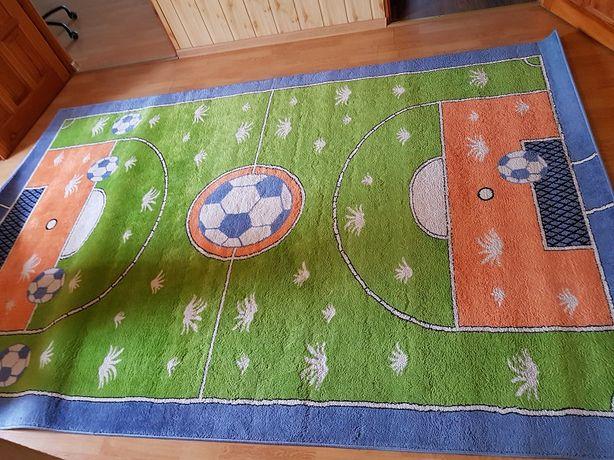 dywan dziecięcy boisko