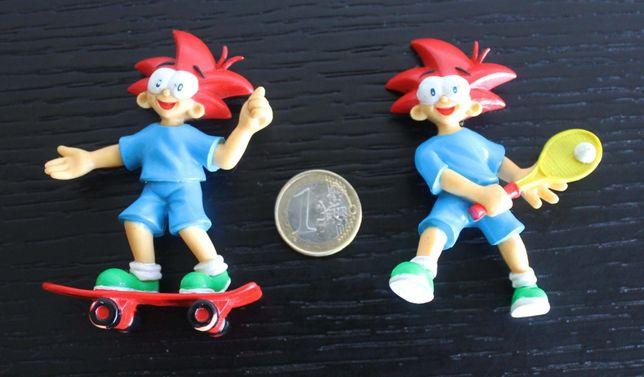 Figuras / Bonecos antigos Yoco em PVC da Nestlé