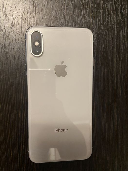 Iphone X 256Gb Silver Neverlock Киев - изображение 1