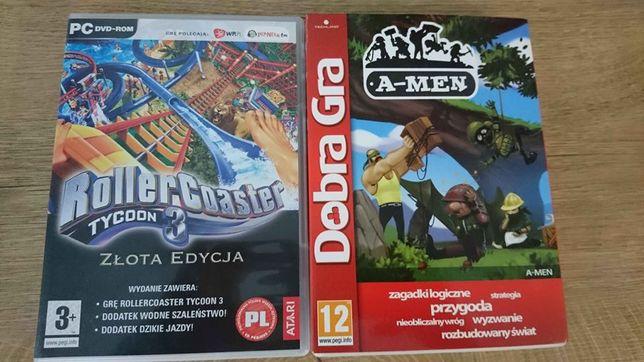 Gra Roller Coaster Tycoon 3 złota edycja plus gratis