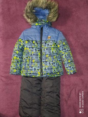 Зимовий костюм на хлопчика