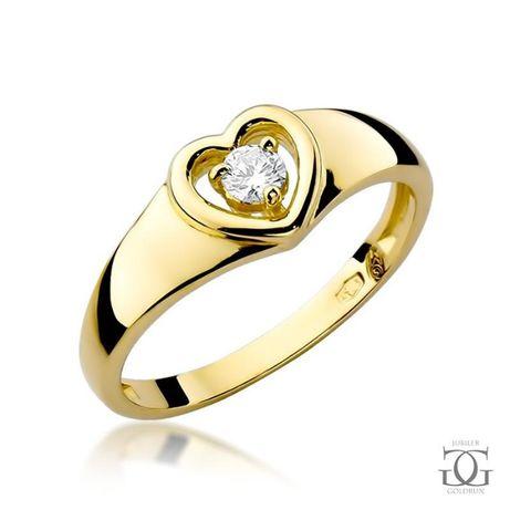 PIERŚCIONEK zaręczynowy -JUBILER Goldrun Bytom