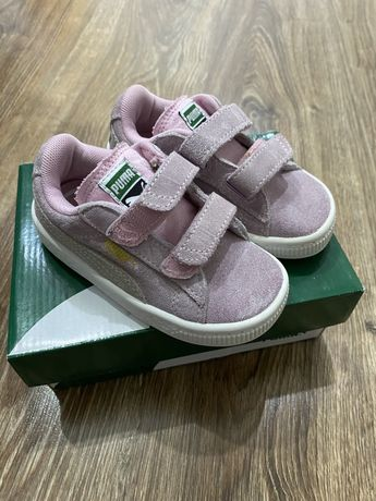 Rozowe buty trampki puma