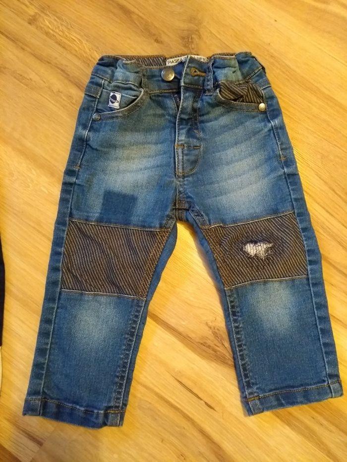 Jeansy regulowane w pasie Olkusz - image 1