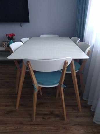 Sprzedam stół z krzesłami i szafkę rtv