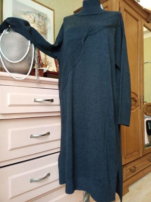 Платье тёплое  вязаное Италия Кривой Рог - изображение 1