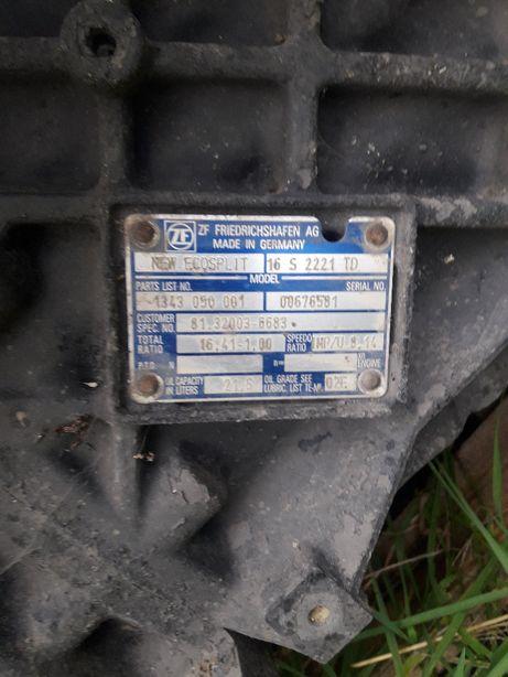 Skrzynia Biegów ECOSPLIT 16 S 2221 TD
