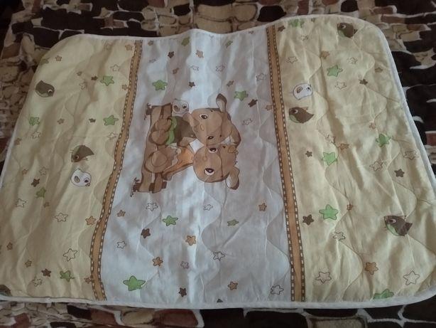Одеяло детское 120 x 80 см пеленки постельное белье