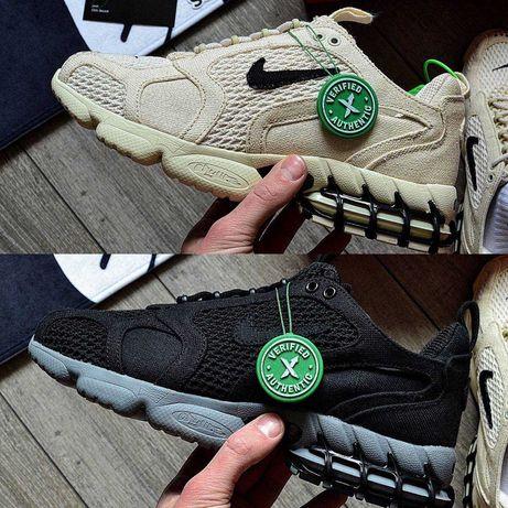 Nike Air Zoom Spiridon Cage Stussy Мужские кроссовки найк зум стусси