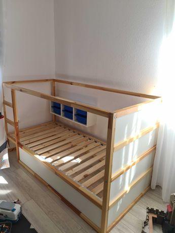Ikea Kura Łóżko 90×200