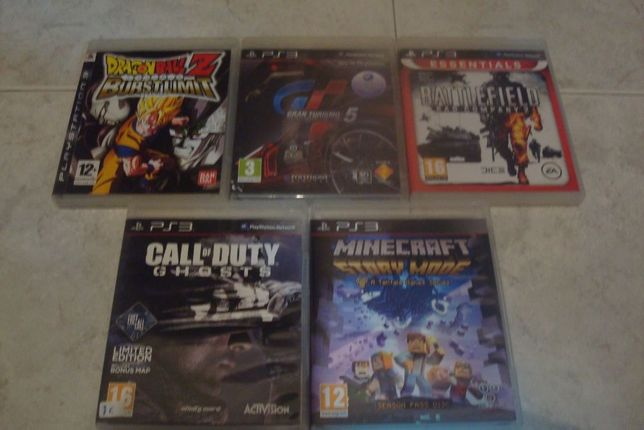 lote 4 jogos originais ps3 ,battlefield bad company 2 etc
