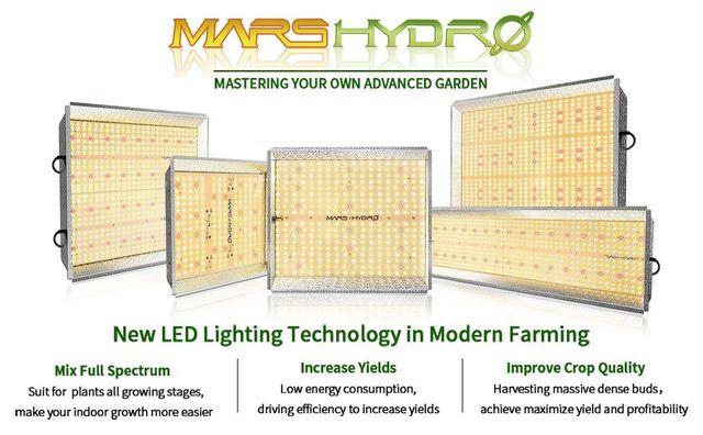 Лампы Mars Hydro TS-серия (Quantum board Марс Гидро) - фитолампа