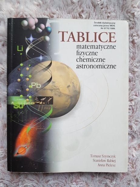 Tablice matematyczne, fizyczne, chemiczne, astronomiczne matura studia
