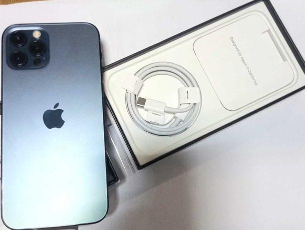 смартфон  iPhone 12 Pro 256Gb Pacific Blue (MGMT3)