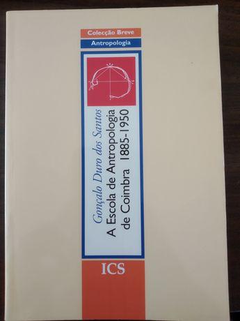 """Livro: """"A escola de antropologia de Coimbra"""""""