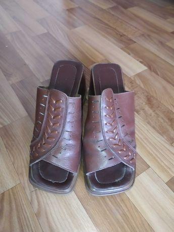 Саббо женская обувь (натуральная кожа)