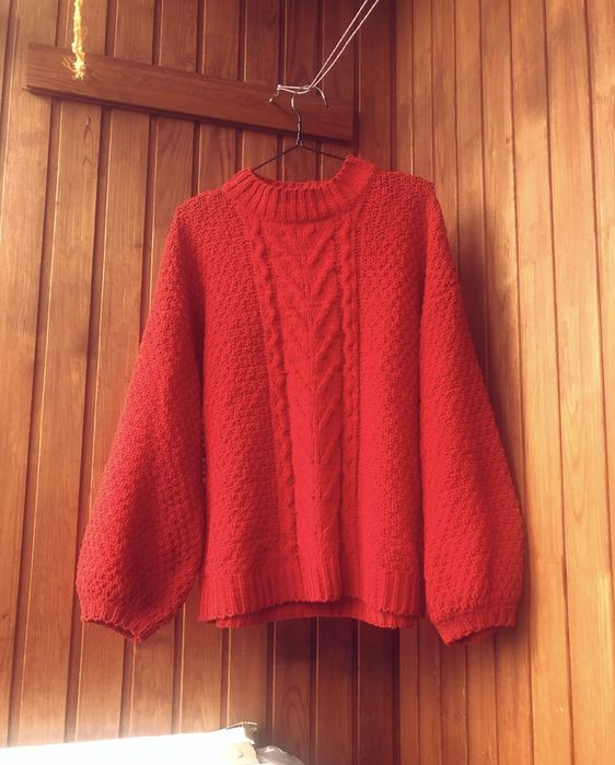 Очень красивый свитер stradivarius оверсайз Львов - изображение 1