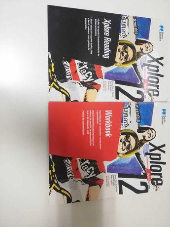 Vendo Workbook Xplore 12  Ingles novos!