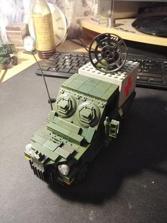 Лего самоделка военная машина и пушка