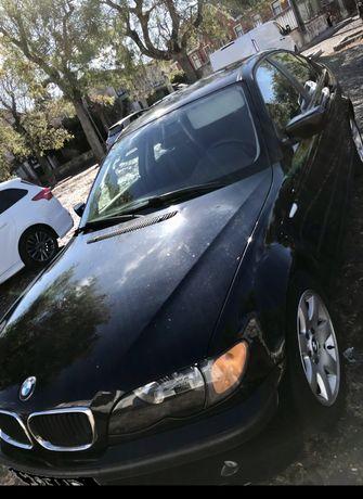 CARRO BMW 320D impecável pode trazer mecânico