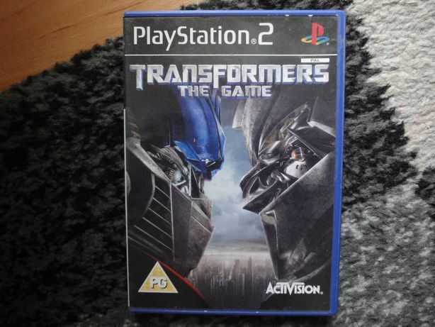 transformers the game - gra na PS2