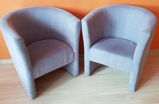 Fotele szare 2szt