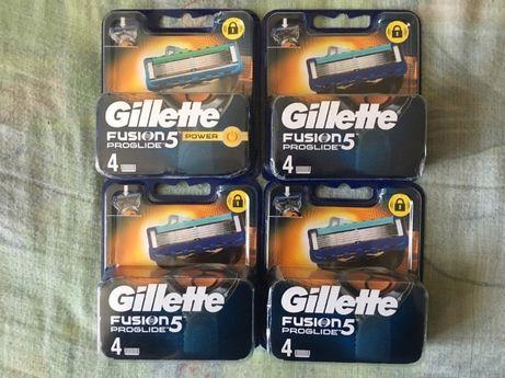 NEW Original касети для гоління\картриджі Gillette Fusion Proglade 5