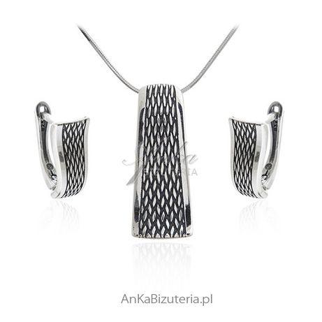 ankabizuteria.pl srebrne koniczynki Bransoletka srebrna pozłacana z ni