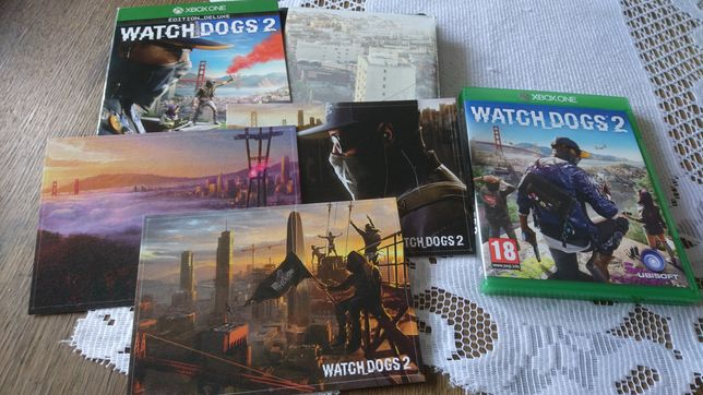 Watch Dogs 2 Edition Deluxe xbox one