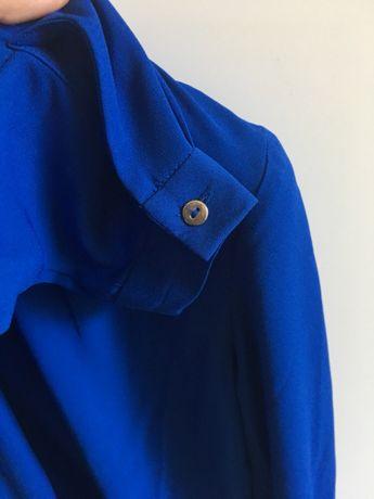 Camisa/blusa azulão NOVA Mango (vendo Tous, Zara)
