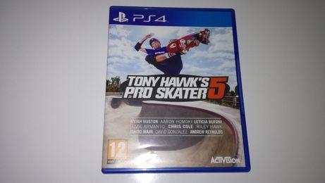 ps4 TONY HAWKS PRO SKATER 5 Deskorolka skate Deska