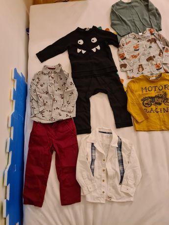 Ubranka dla chłopca / paka ciuszków rozm 92 hm reserved coccodrillo
