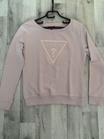 Guess bluza pudrowy roz S M la mania