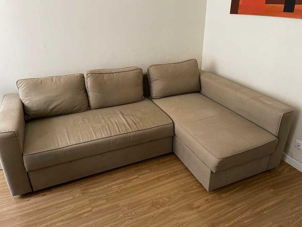 Sofá-cama IKEA FRIHETEN usado