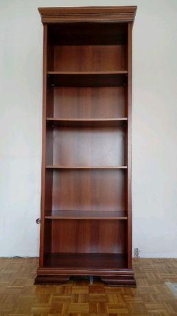 Regał  półka na książki BRW brązowy