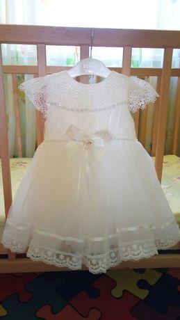 Платье на годик либо на крещение