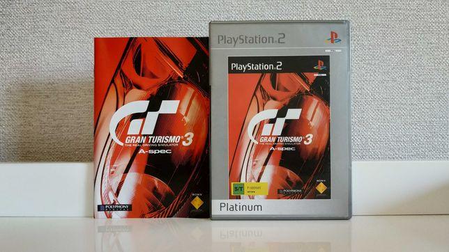 Gran Turismo 3: A-Spec Platinum (PAL) (PS игры, диски)