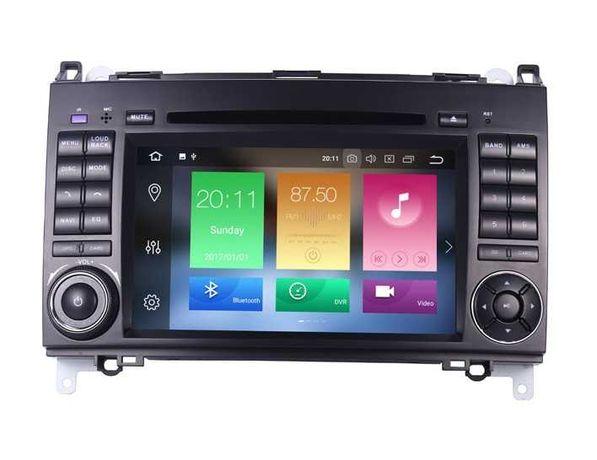 Radio Nawigacja Mercedes ANDROID 10 DSP 4GB Sprinter Vito VW LT W906