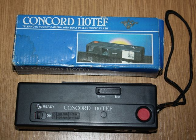 Aparat fotograficzny Concord 110TEF