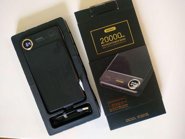 NEW Powerbank 20000 mАh МОЩНЫЙ зарядное  аккумулятор повербанк черный
