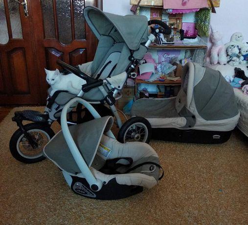 Дитяча коляска 3в1