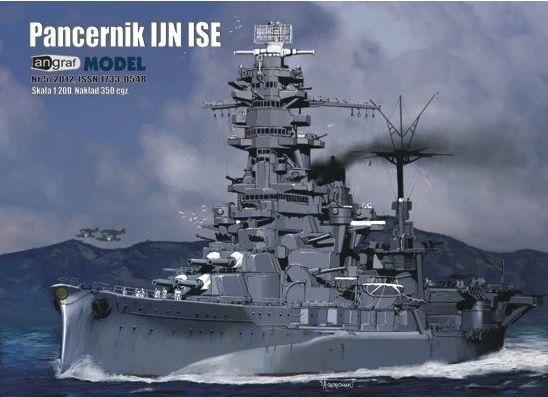 Angraf nr 5/2012 Japoński pancernik IJN ISE 1:200