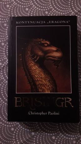Książka Christopher Paolini Brisingr