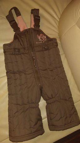 Coccodrillo spodnie narciarskie  ocieplane 80/86 12-18m 1-2 lata Nowe