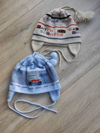 Демисезонная шапка для мальчика, размер 42/44