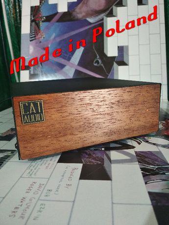 Wysokiej jakości przedwzmacniacz gramofonowy HiFi dual MONO