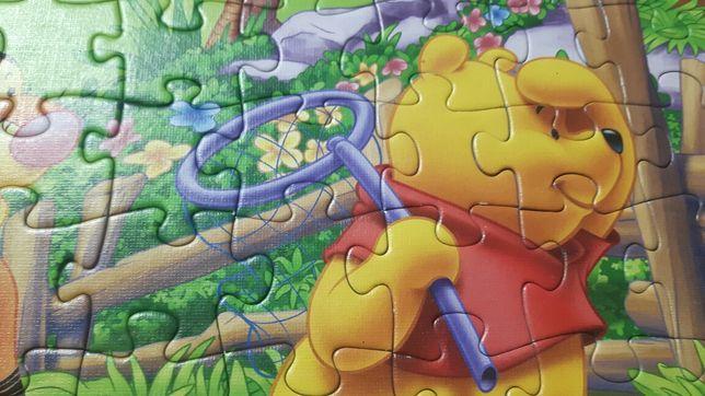 Kubuś Puchatek puzzle 72 elementy