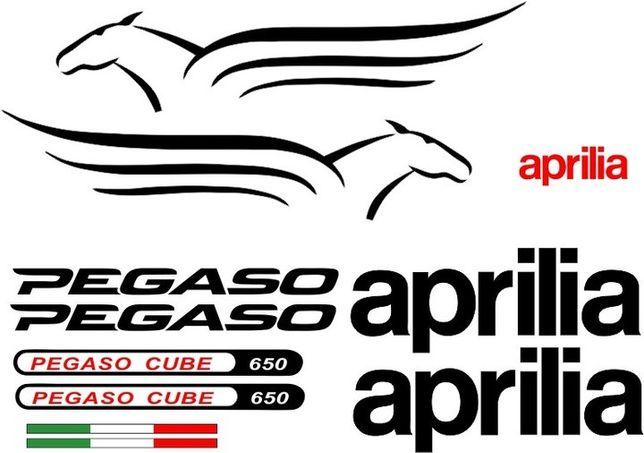 Naklejki APRILIA PEGASO CUBE 650 na Motocykl Motor - Folia Długoletnia